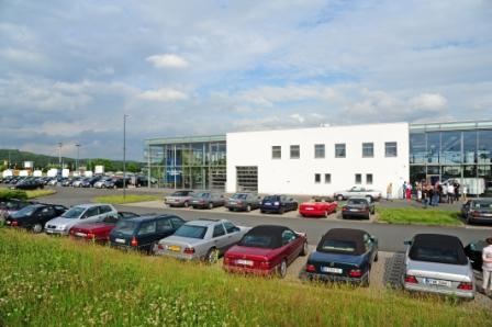 8.intern. W124 Clubtreffen v.14.-17.6.2012 in Gruenberg -2