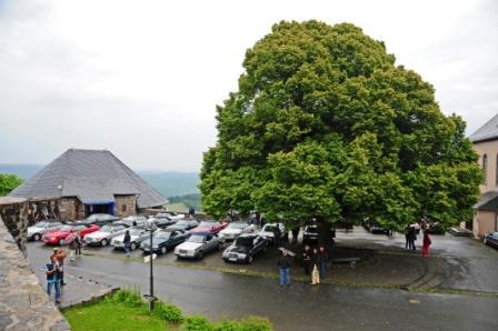8.intern. W124 Clubtreffen v.14.-17.6.2012 in Guenberg -1